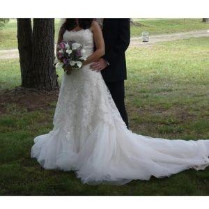 Maggie Sottero wedding dress size 6-8